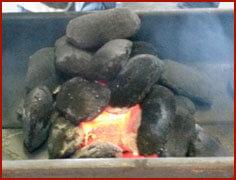 Figure 2: Picture of Carbonized Residue Briquettes